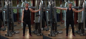 low cable lateral raise